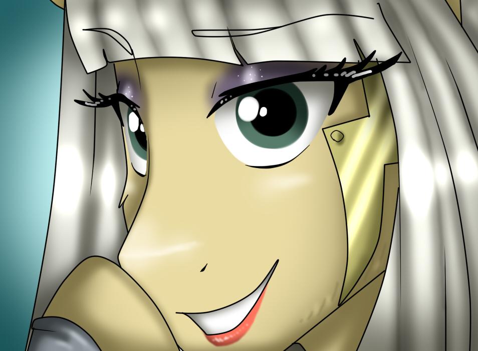 Lady Gaga Poker Face Pony_1 by NamyGaga