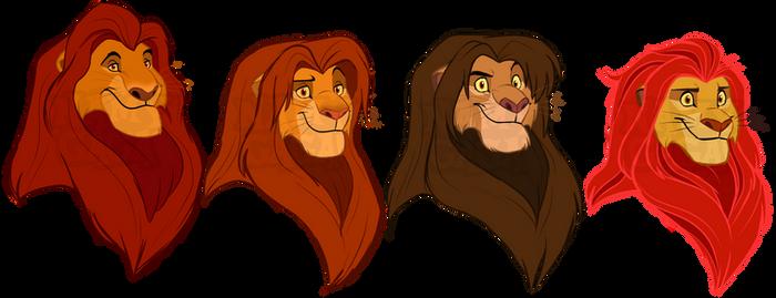 TLK Royal lions by NamyGaga