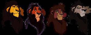 TLK Royal black mane lions