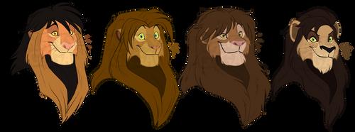 TLK Secondary Royal lions by NamyGaga