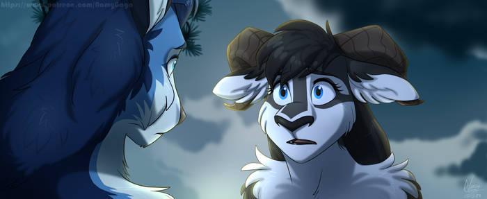 Sheep and Wolves GB_Impacted Greyzi