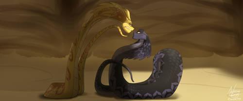 Stay away from me... (Sahara) by NamyGaga