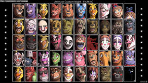 FNAFNG_Ultimate Custom Night by NamyGaga
