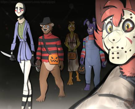 FNAFNG_Halloween 2018 by NamyGaga