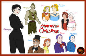 FNAFNG_Humanized Challenge by NamyGaga