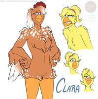 FNAFNG_Clara Design sheet by NamyGaga