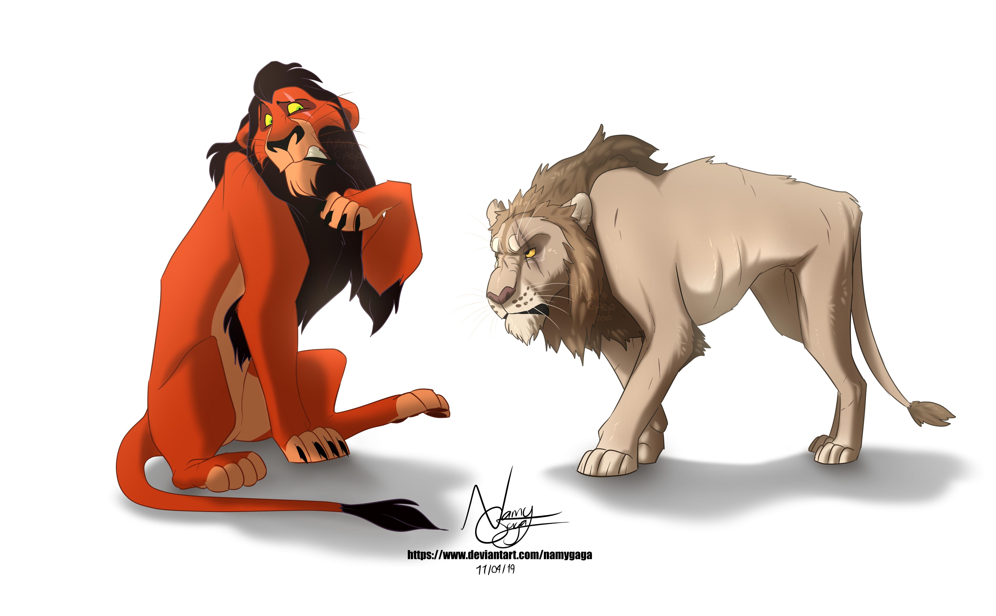 Scar VS Scar