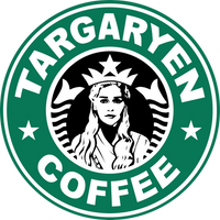 Targaryen Coffee LOGO 2 by NamyGaga