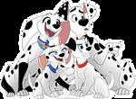 Dylan Dolly Lucky Cadpig Dalmatians