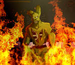 FNAFNG_Surrounded by fire