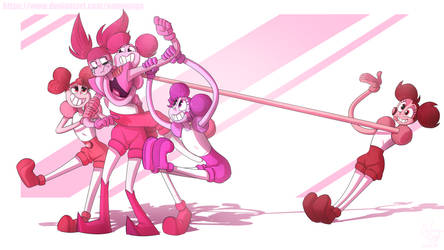 Now we're your new friends Spinel