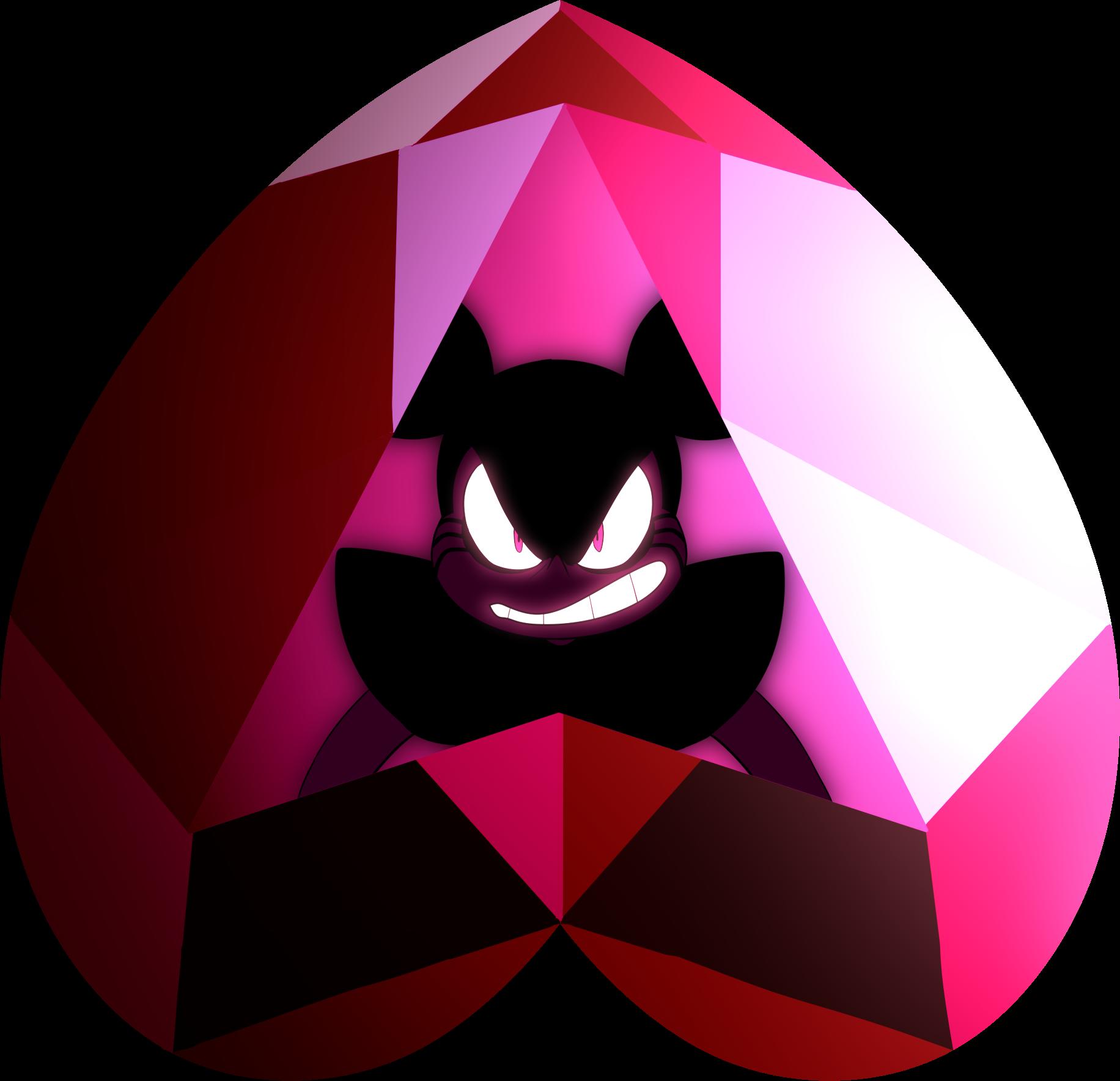 Spinel inside her Gemstone