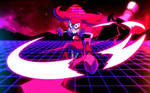 Mad Spinel Neon Wallpaper