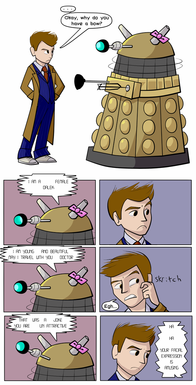 The Daleks Identify The Doctor's Greatest Weakness by CassieThomas