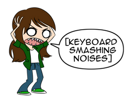 Keyboard Smash (On Zazzle)