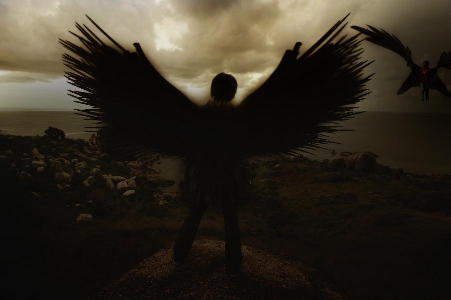 Dark Angel manipulation.. by Theliive on DeviantArt