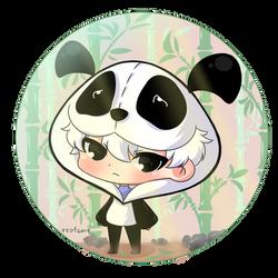 [FA] Dirk's Panda Mascot OC #yourartmystyle