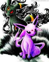 Pokemon's Dynamic Duo by progressinprogress