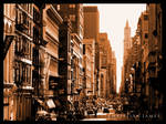Sidestreets of New York