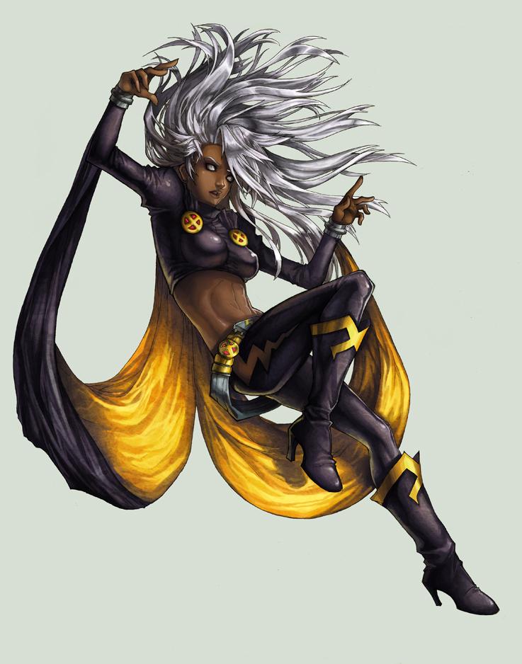 Women of X-Men :: Storm by RamenzillaX
