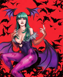 Morrigan by AkhMorn