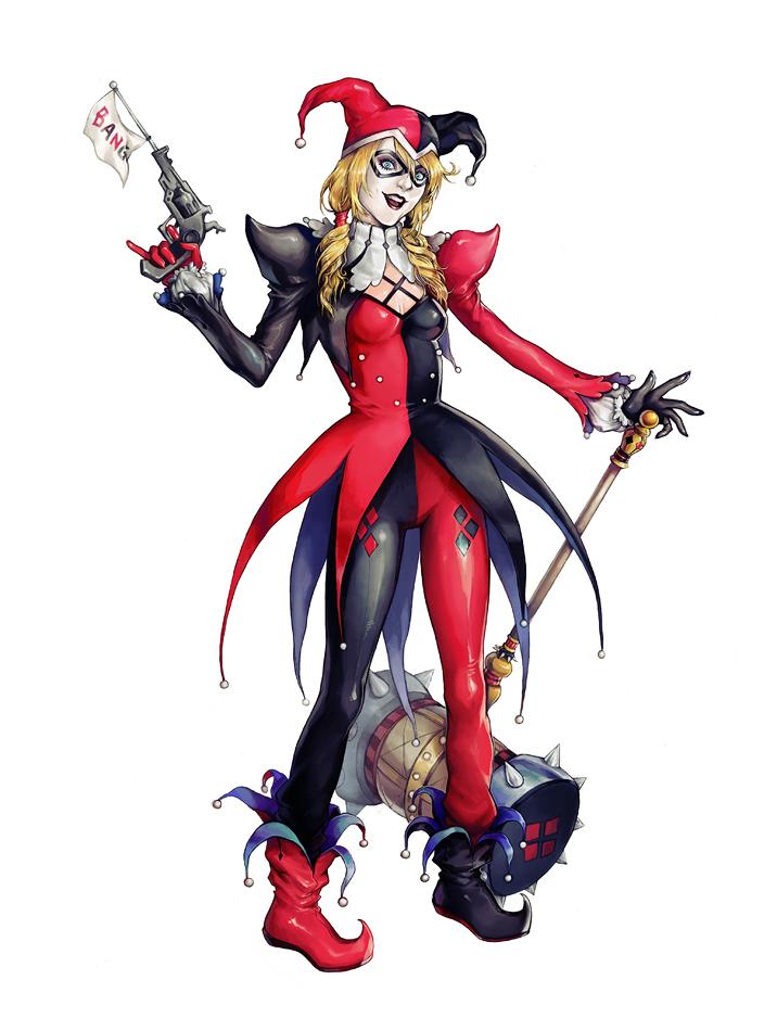 Gotham City Sirens :: Harley Quinn by AkhMorn