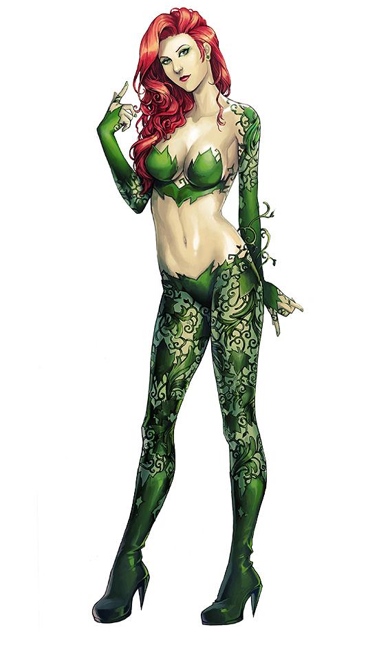 Gotham City Sirens :: Poison Ivy by AkhMorn