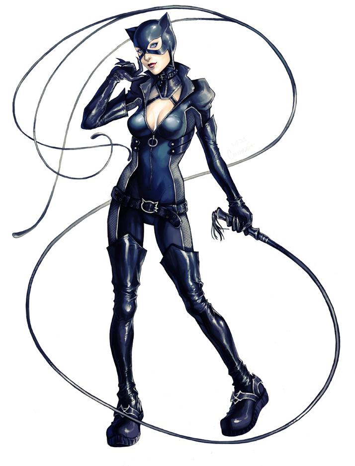 Gotham City Sirens :: Catwoman by AkhMorn