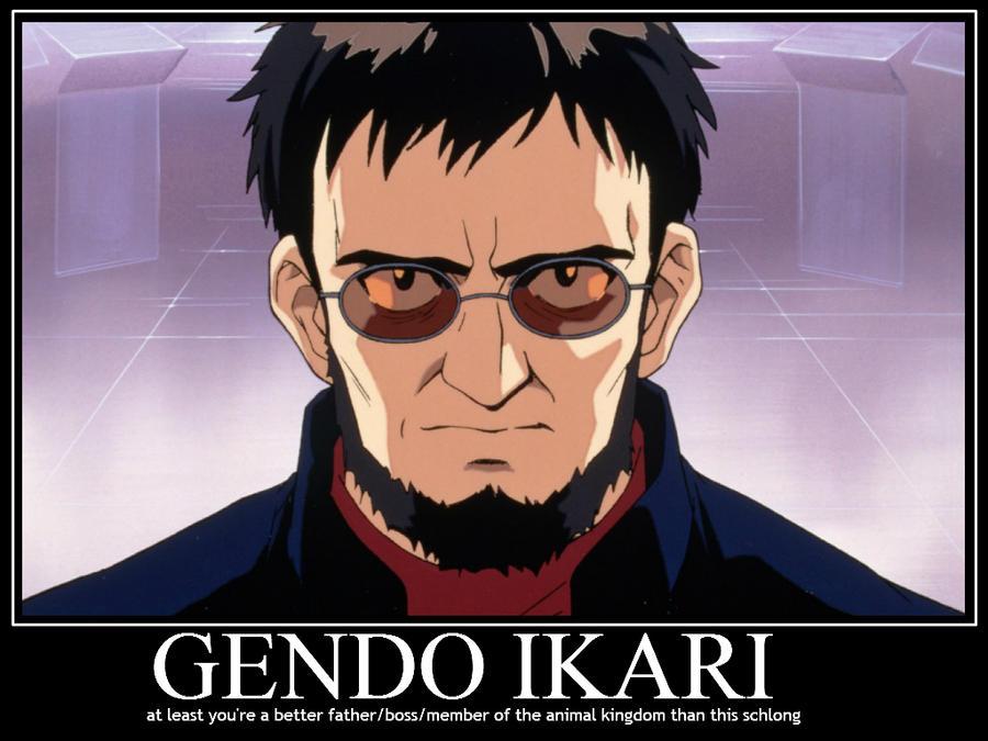 Gendo ikari demote by sailmaster seion on deviantart