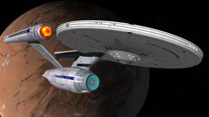 USS Jeanne D'Arc - Departing Vulcan
