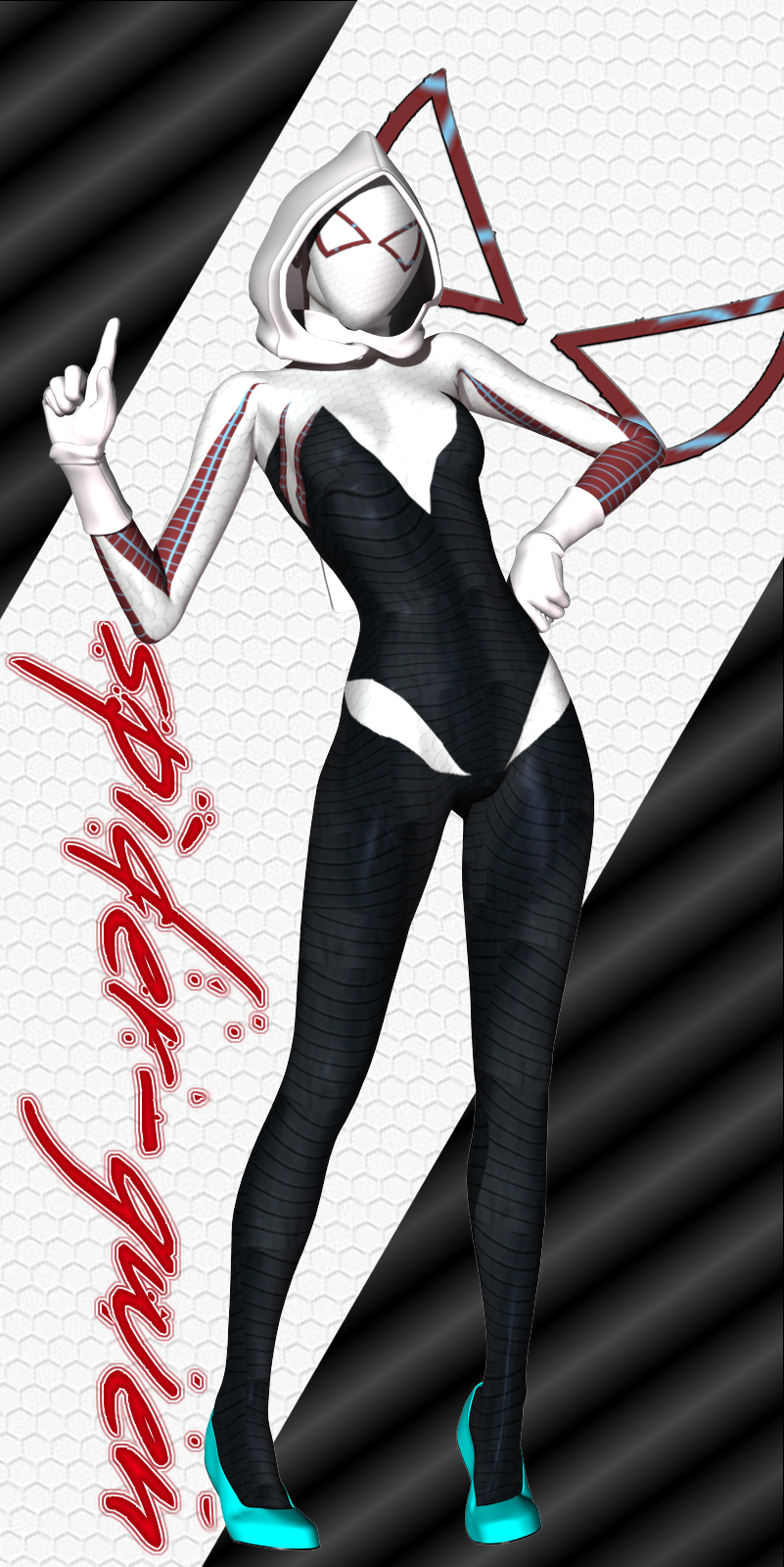 Spectacular Spider-Gwen by Sailmaster-Seion