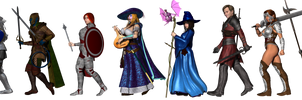 Uncanny RPG - Blue Group