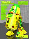 LoSpek Astromechs - Quad