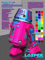 LoSpek Astromechs - Sixy by Sailmaster-Seion