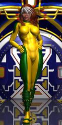 X-Men TV - Rogue Conceptual Design by Sailmaster-Seion