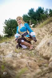 Zelda, Breath of the Wild by Bamz-OSully
