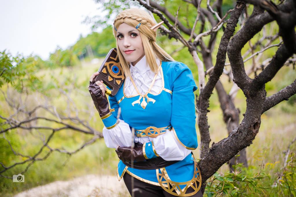 Twisty Trees Zelda, Breath of the Wild by Bamz-OSully