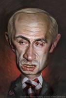 Putin by tomfluharty