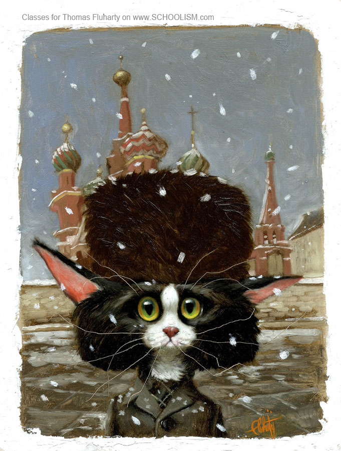Vladimir the Roosky Kat by tomfluharty