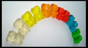 gummibears: rainbow by mrucanka