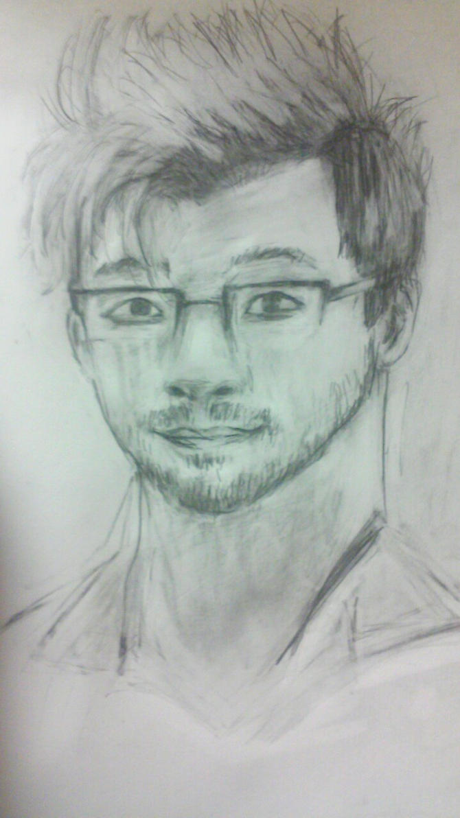 Markiplier (sketch) by EmiLightning