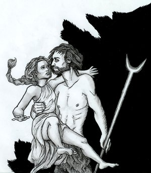 Hades abducts Persephone_by_si