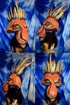 Scar Lion King Musical head