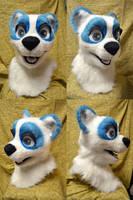 Skye Panda Head by temperance