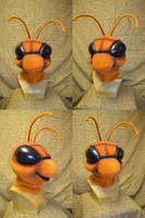 Annie the Ant Head by temperance