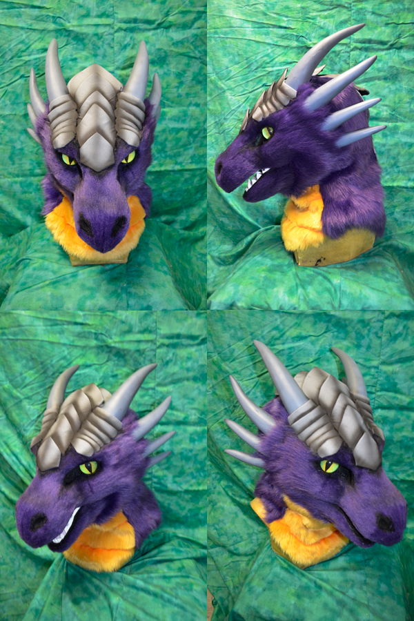 Saber Dragon Head by temperance