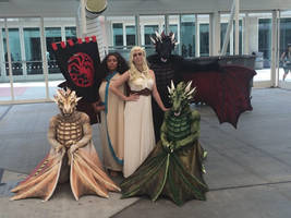 SDCC 2014 - Mother of Dragons by temperance