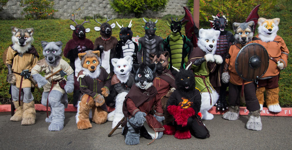 Komickrazi Photoshoot Rainfurrest 2014 by temperance