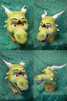Rico the Dragon Head by temperance