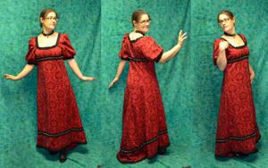 Regency Dress by temperance
